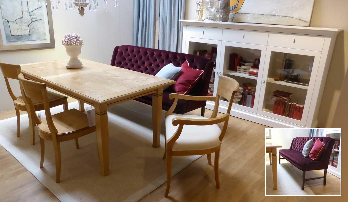 esstischsofas klassisch sensa esstischsofas. Black Bedroom Furniture Sets. Home Design Ideas