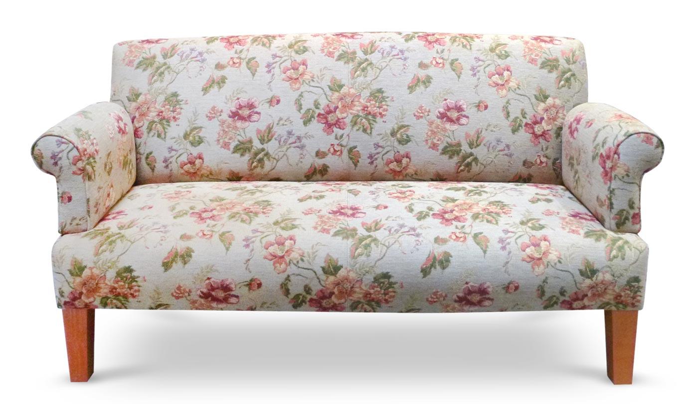 Esstischsofa, Möbelstoff, Polsterstoff, Floral